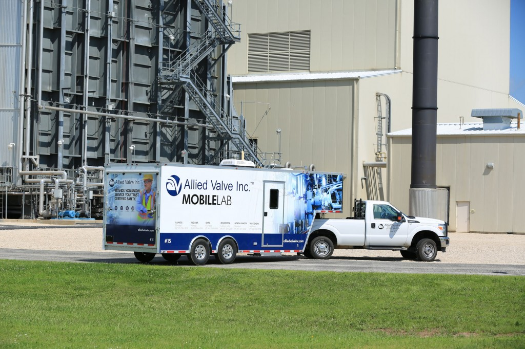 Allied Valve Mobile Lab