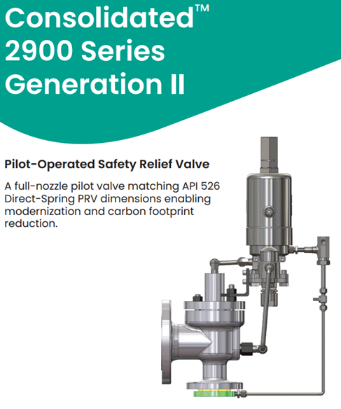 Image for Lower Total Cost of Ownership, Increased Operating Efficiency, and a Smaller Carbon Footprint: Why the Consolidated 2900 Series Gen II POSRV Is a Game-Changer